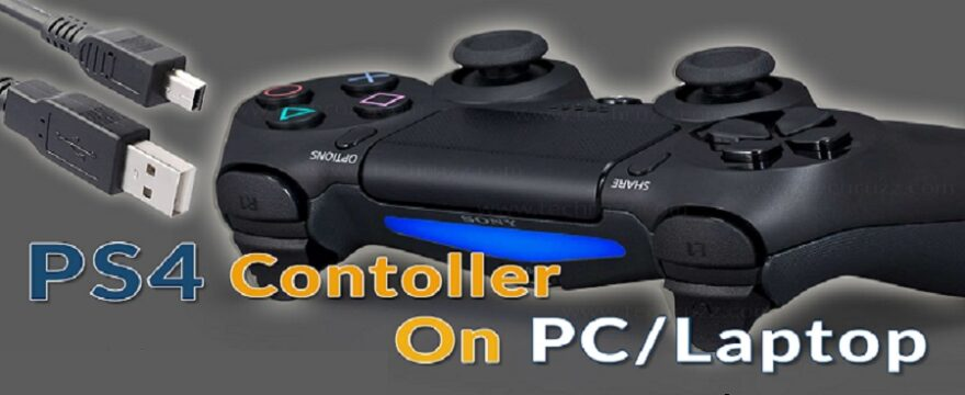 How To Connect PS4 Controller To Laptop
